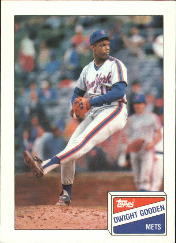 1988 Bazooka #8 Dwight Gooden