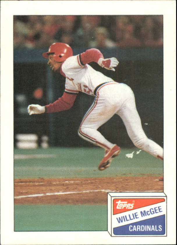 1988 Bazooka #12 Willie McGee