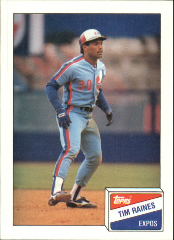 1988 Bazooka #15 Tim Raines
