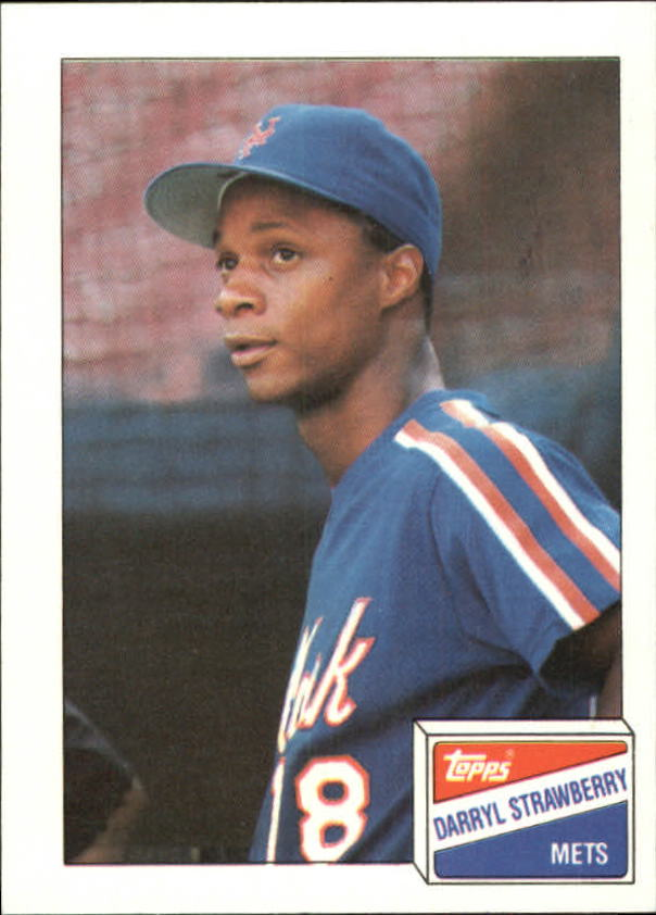1988 Bazooka #21 Darryl Strawberry