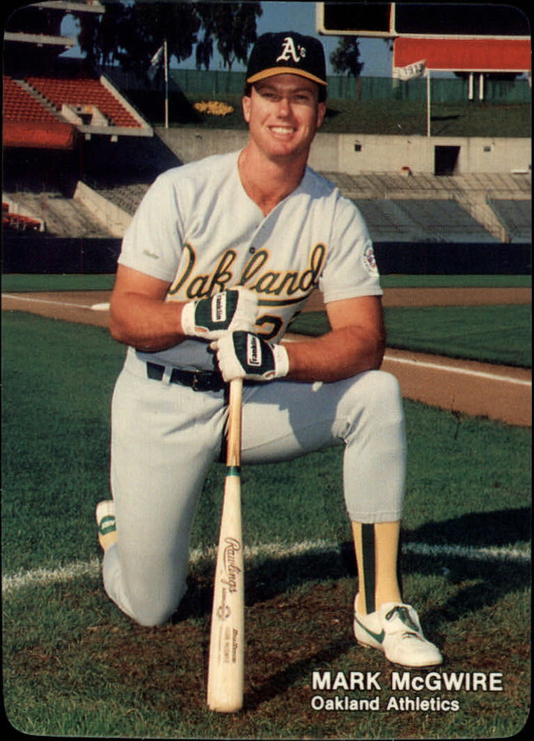 1988 Mother's McGwire #3 Mark McGwire/(Kneeling In/On Deck Circle)