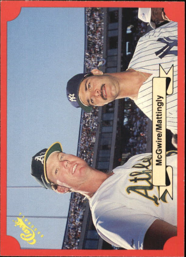 1988 Classic Red #151 Mark McGwire and/Don Mattingly