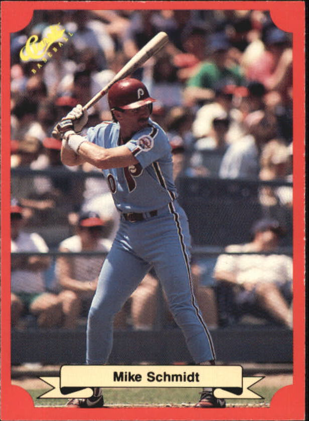 1988 Classic Red #167 Mike Schmidt