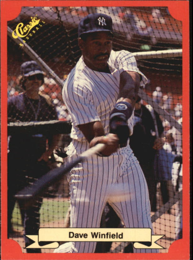 1988 Classic Red #170 Dave Winfield