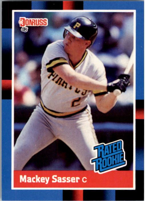 1988 Donruss #28 Mackey Sasser RC