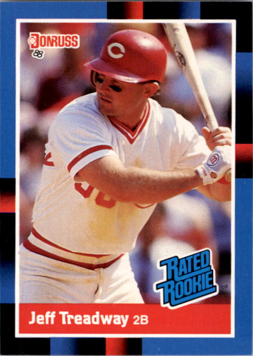 1988 Donruss #29 Jeff Treadway RC
