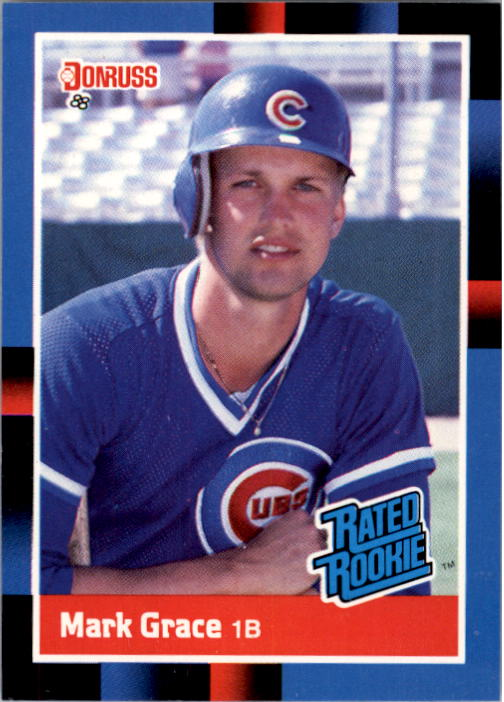 1988 Donruss #40 Mark Grace RC