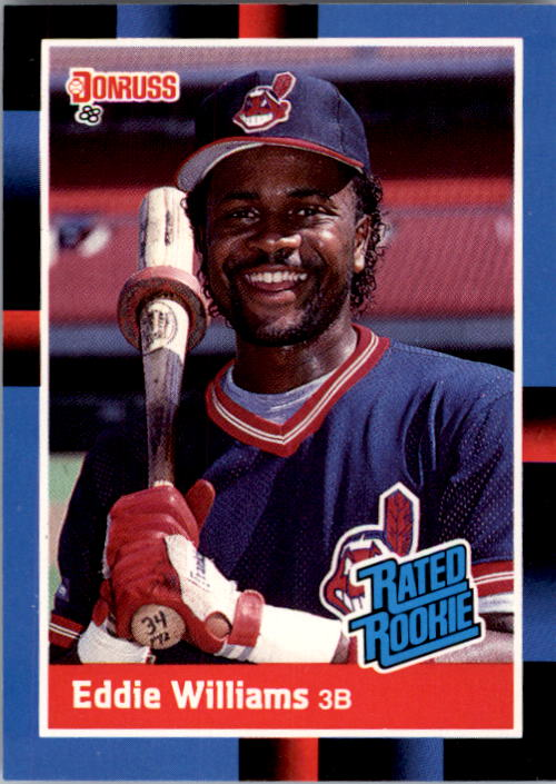 1988 Donruss #46 Eddie Williams RC