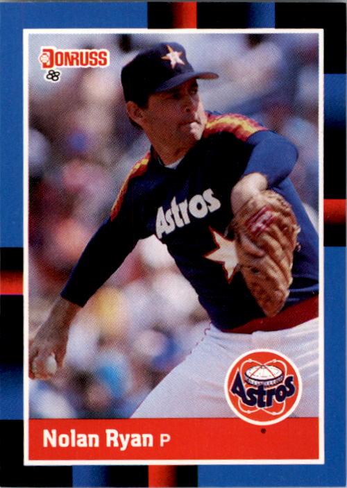 1988 Donruss #61 Nolan Ryan