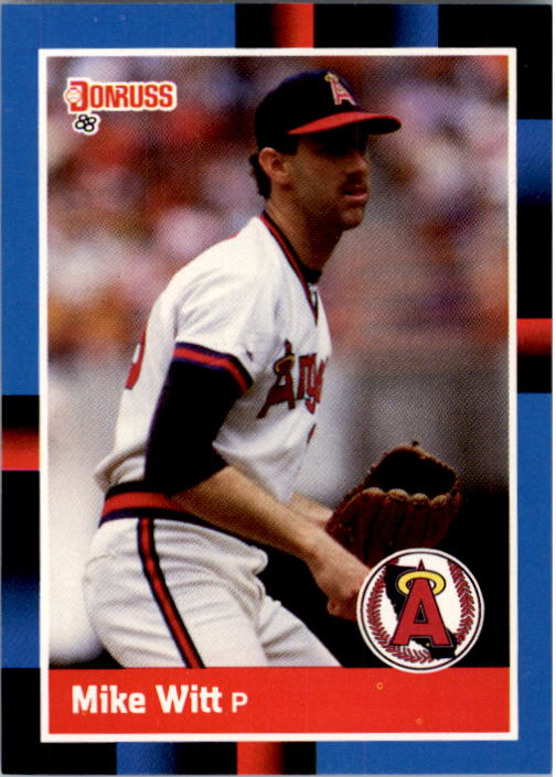 1988 Donruss #86 Mike Witt