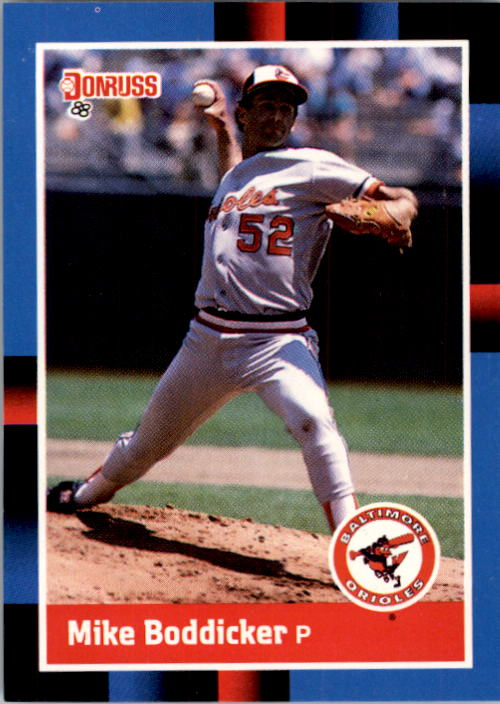 1988 Donruss #89 Mike Boddicker