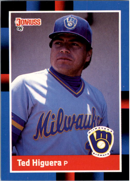 1988 Donruss #90 Ted Higuera