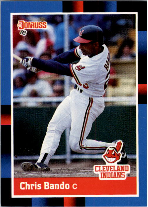 1988 Donruss #95 Chris Bando