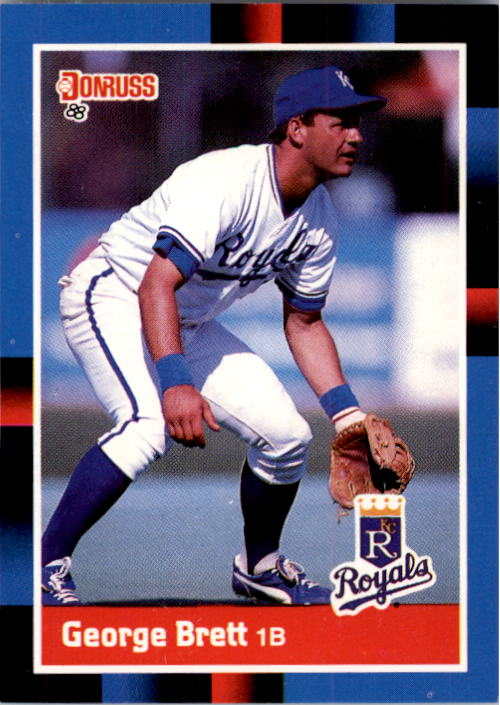 1988 Donruss #102 George Brett