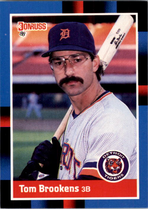 1988 Donruss #107 Tom Brookens