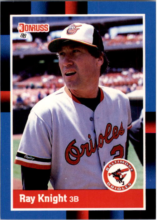 1988 Donruss #108 Ray Knight