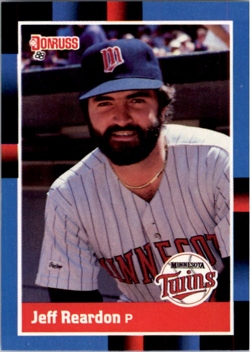1988 Donruss #122 Jeff Reardon
