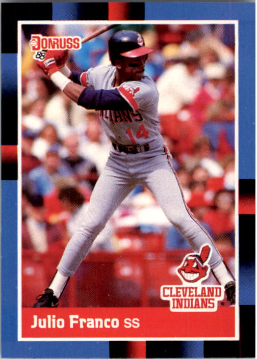 1988 Donruss #156 Julio Franco