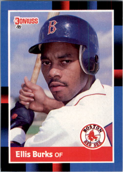 1988 Donruss #174 Ellis Burks RC
