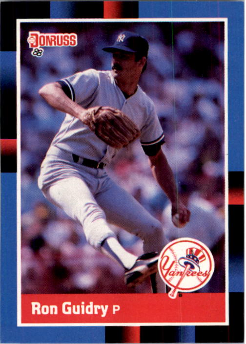 1988 Donruss #175 Ron Guidry