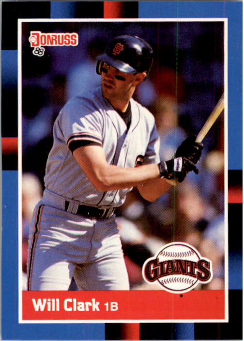 1988 Donruss #204 Will Clark