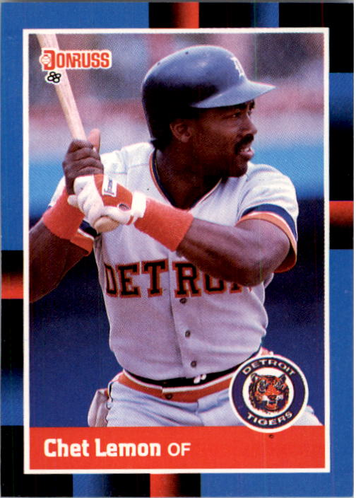 1988 Donruss #215 Chet Lemon