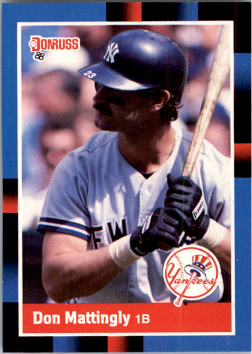 1988 Donruss #217 Don Mattingly
