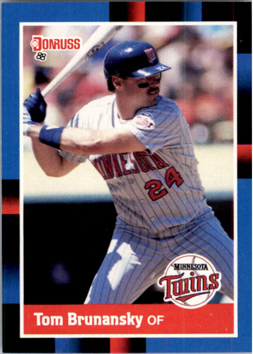 1988 Donruss #245 Tom Brunansky