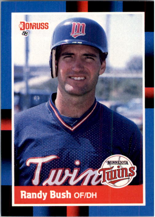 1988 Donruss #272 Randy Bush