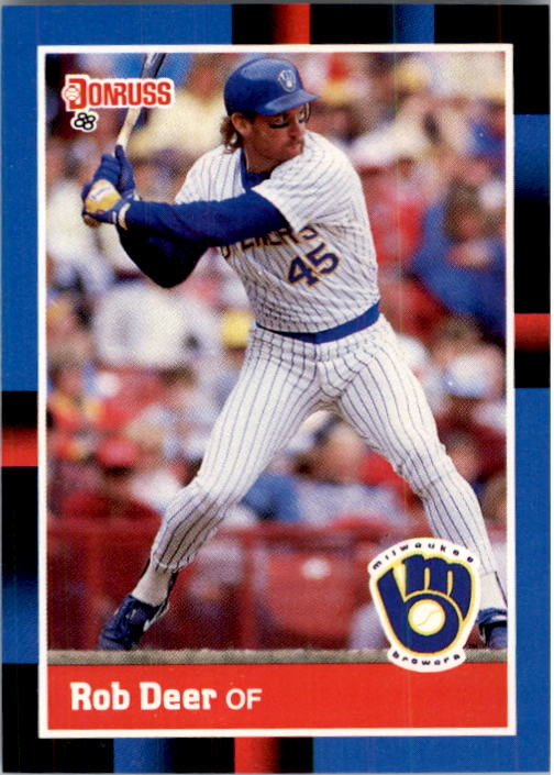 1988 Donruss #274 Rob Deer