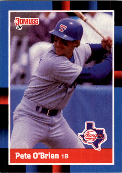 1988 Donruss #284 Pete O'Brien
