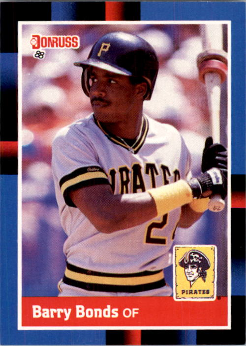 1988 Donruss #326 Barry Bonds front image