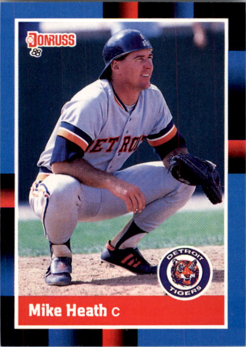 1988 Donruss #338 Mike Heath