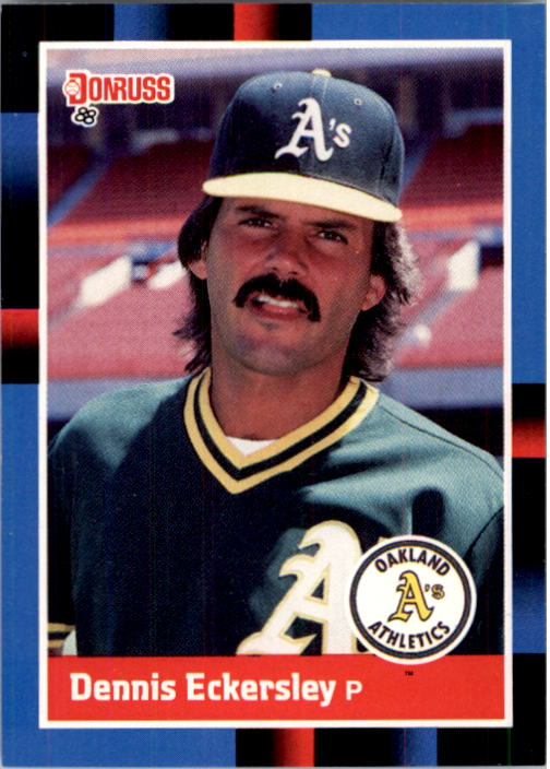 1988 Donruss #349 Dennis Eckersley
