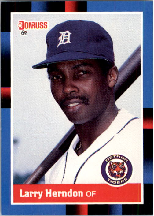 1988 Donruss #353 Larry Herndon