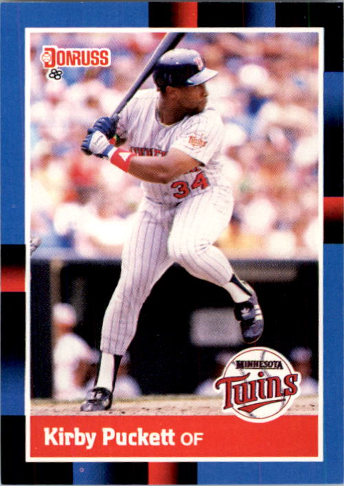 1988 Donruss #368 Kirby Puckett