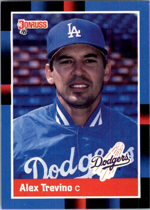 1988 Donruss #376 Alex Trevino