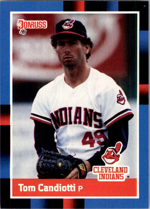 1988 Donruss #377 Tom Candiotti