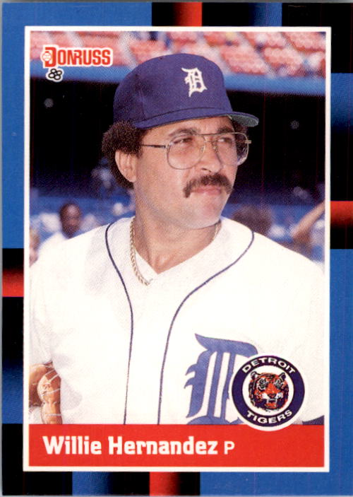 1988 Donruss #398 Willie Hernandez