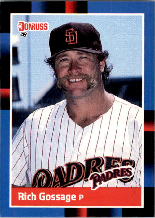 1988 Donruss #434 Rich Gossage