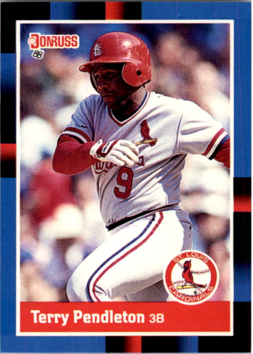 1988 Donruss #454 Terry Pendleton