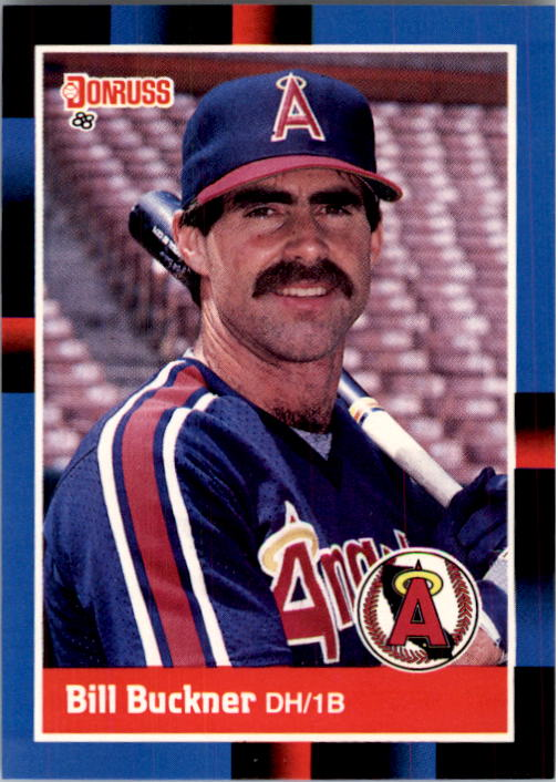 1988 Donruss #456 Bill Buckner