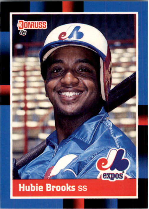 1988 Donruss #468 Hubie Brooks