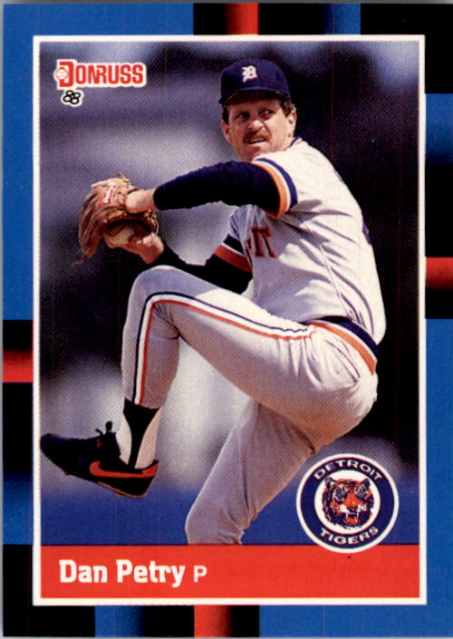 1988 Donruss #476 Dan Petry