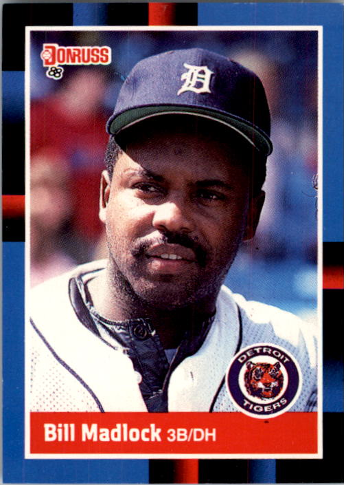 1988 Donruss #496 Bill Madlock
