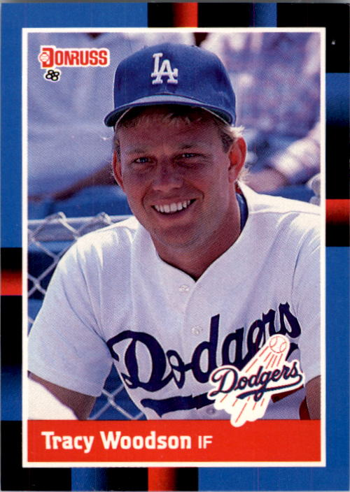 1988 Donruss #499 Tracy Woodson RC