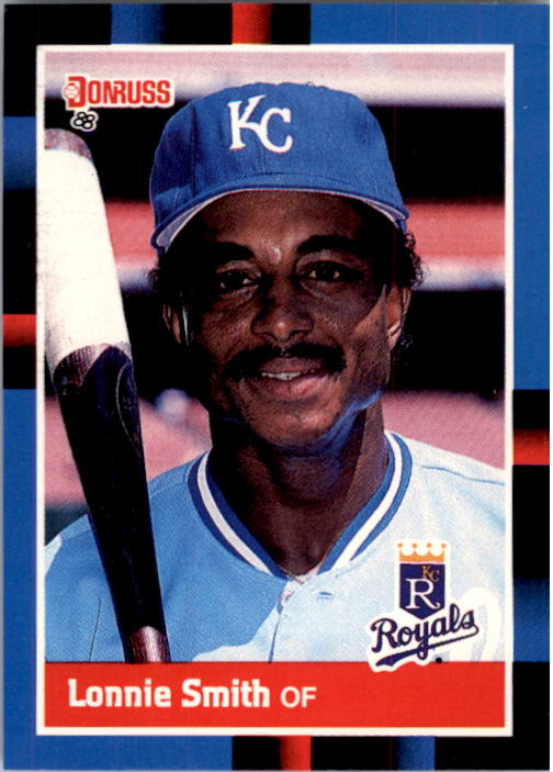 1988 Donruss #527 Lonnie Smith