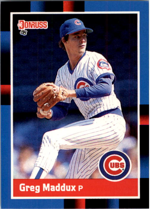 1988 Donruss #539 Greg Maddux