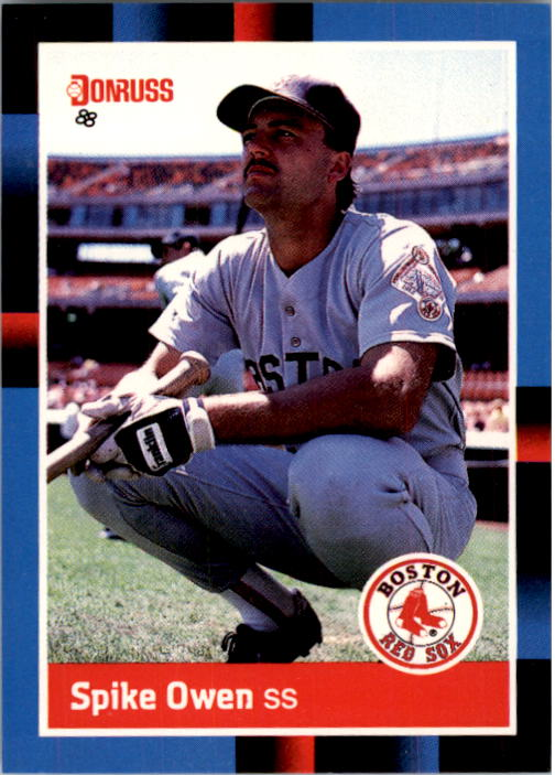 1988 Donruss #544 Spike Owen