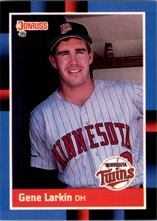 1988 Donruss #564 Gene Larkin RC*